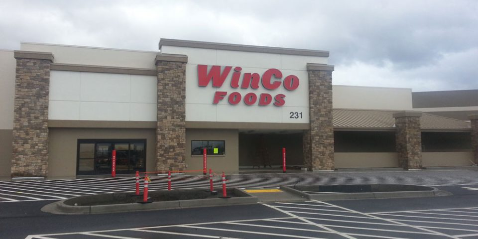 Winco - Parking lot